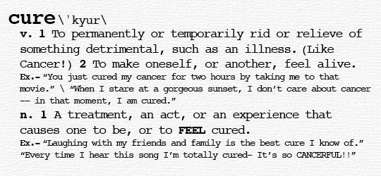DEFINITION-cure